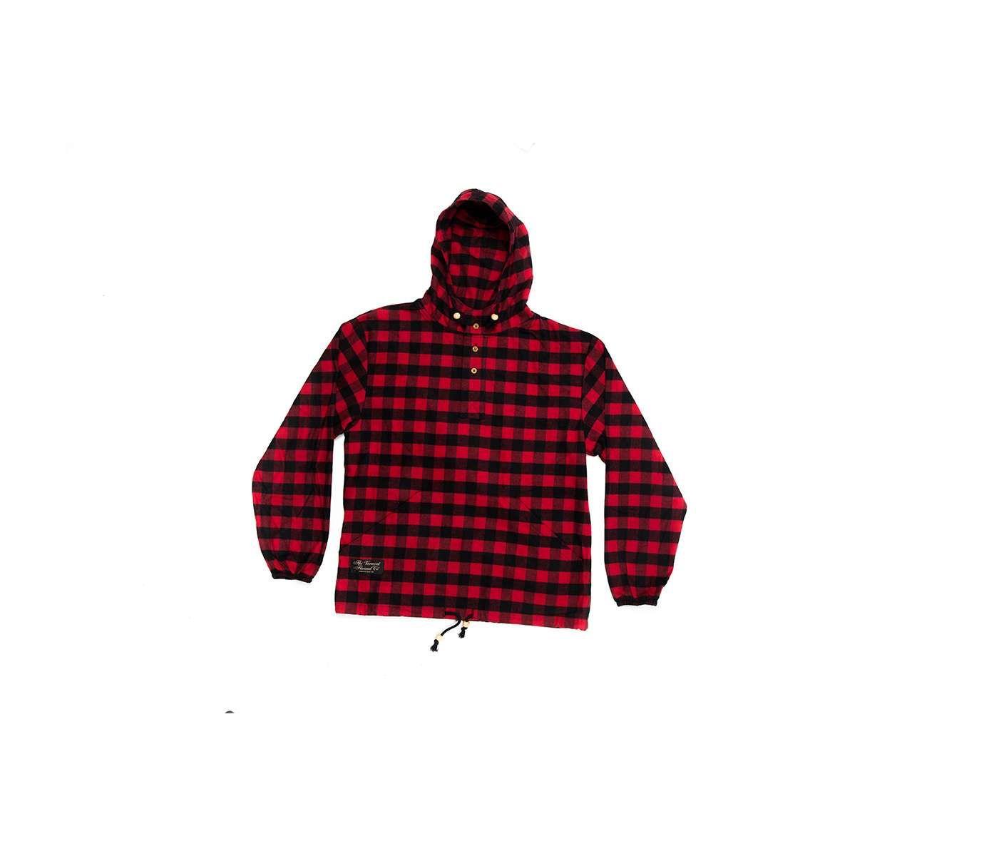 f02f2da104eeb Baa Haa Hooded Flannel Pullover - Vermont Flannel Co | Boy's Life ...