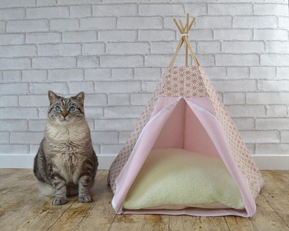 cat basket cat teepee dog teepee with cushion japanese. Black Bedroom Furniture Sets. Home Design Ideas