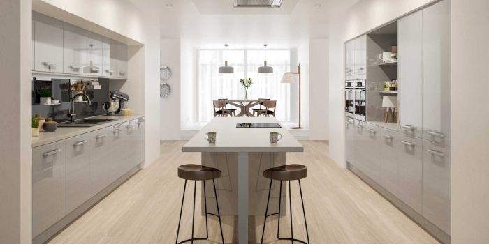 ▷ 1001 + variantes de la cuisine avec îlot central moderne et - Cuisine Moderne Avec Ilot Central