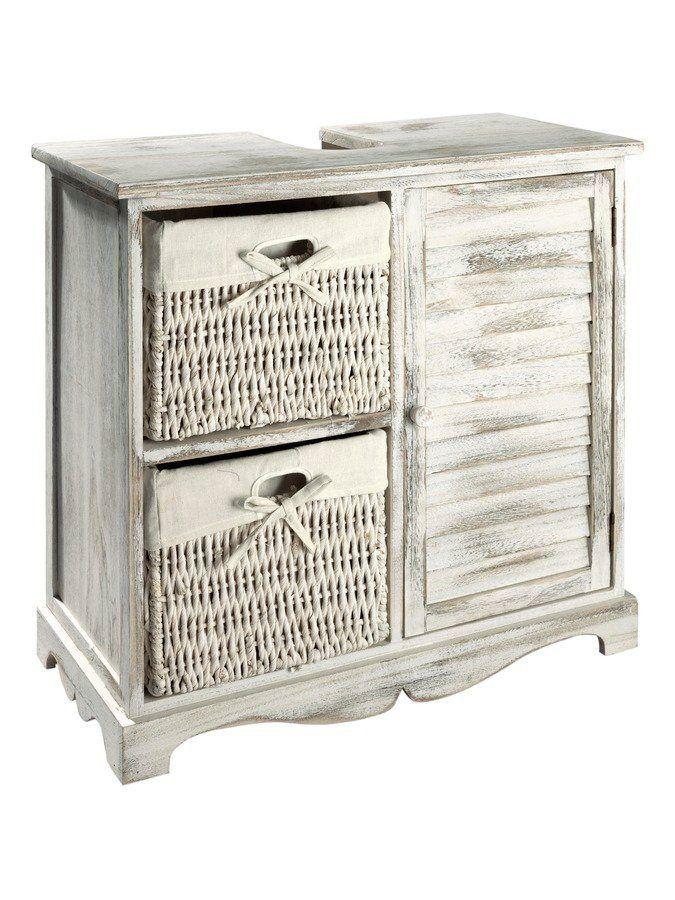 waschbeckenunterschrank weis gunstig, badmöbel waschbecken-unterschrank weiß, heine home jetzt bestellen, Innenarchitektur