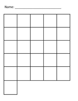 Write the Alphabet Grid | Writing Activities | Pinterest ...