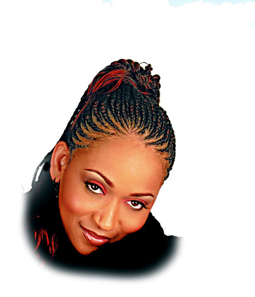 african cornrow braids ponytail   cornrows section   hair