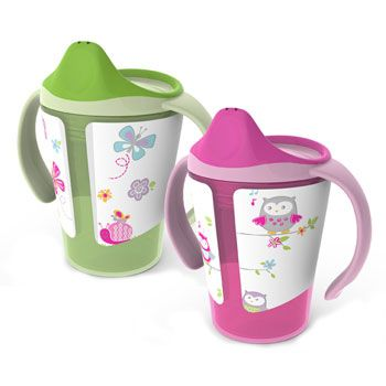 Born Free Grow with Me Cups are guaranteed spill-proof and leak-proof. The interchangeable lids can be removed, and cups can be stacked for easy storage. An Easy Sip rim has threads on the inside to provide a smooth surface for drinking when cups are used without lids for older children. Suggested retail is $9.99 for a twin pack.