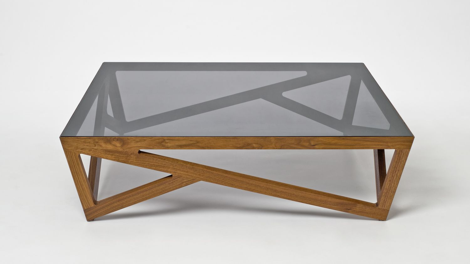Simple In Appearance Yet Complex In Construction Painstakingly Shaped And Joined Solid Wood Supports A 1 Coffee Table Glass Wood Coffee Table Oak Coffee Table [ 845 x 1500 Pixel ]