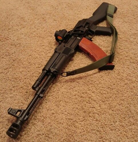 My Arsenal SAM7R AK pattern rifle with an RS Regulate AK-301M and