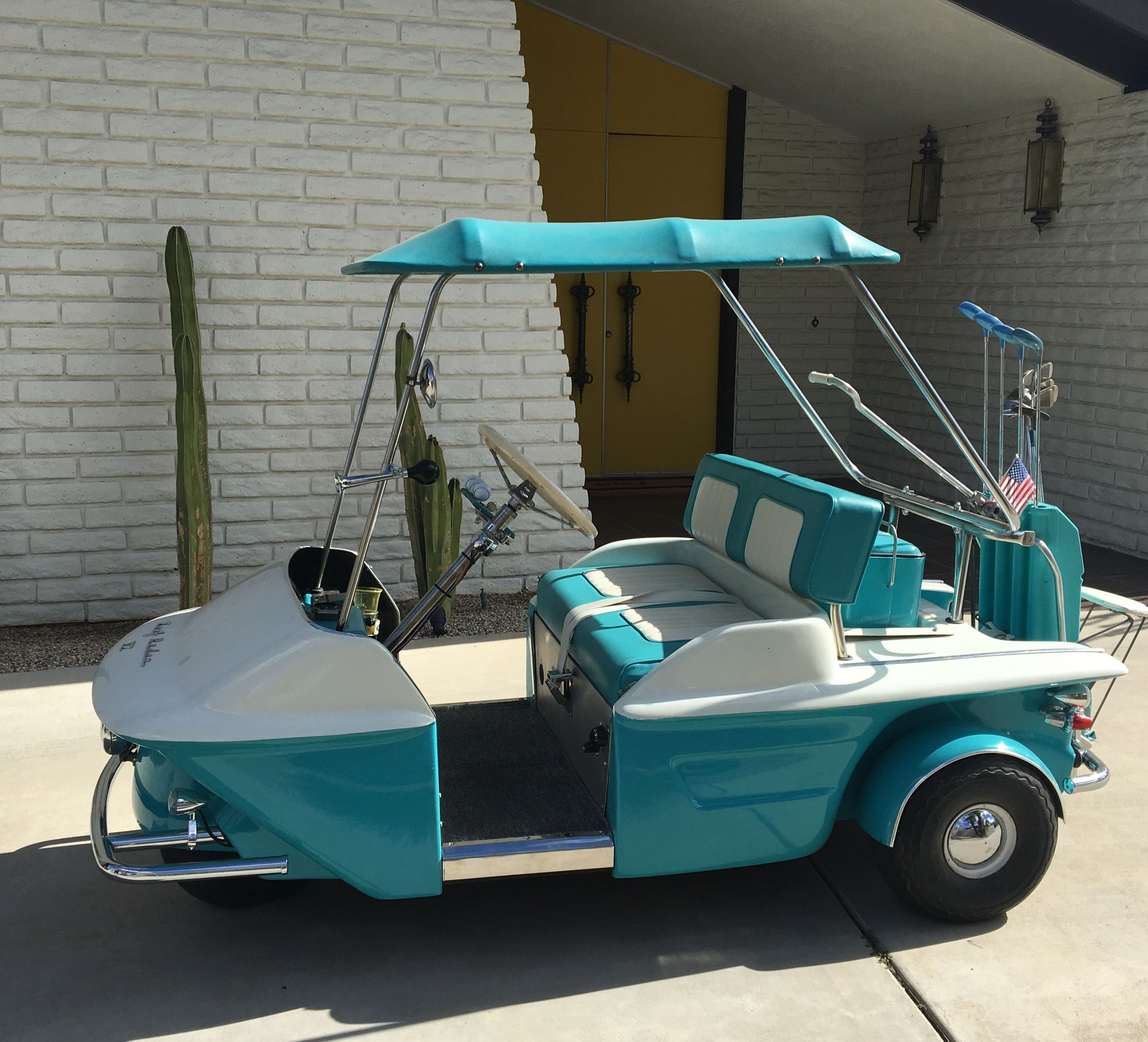 Vintage Thunderbird Golf Cart Golf Carts Golf Cart Bodies Vintage Golf