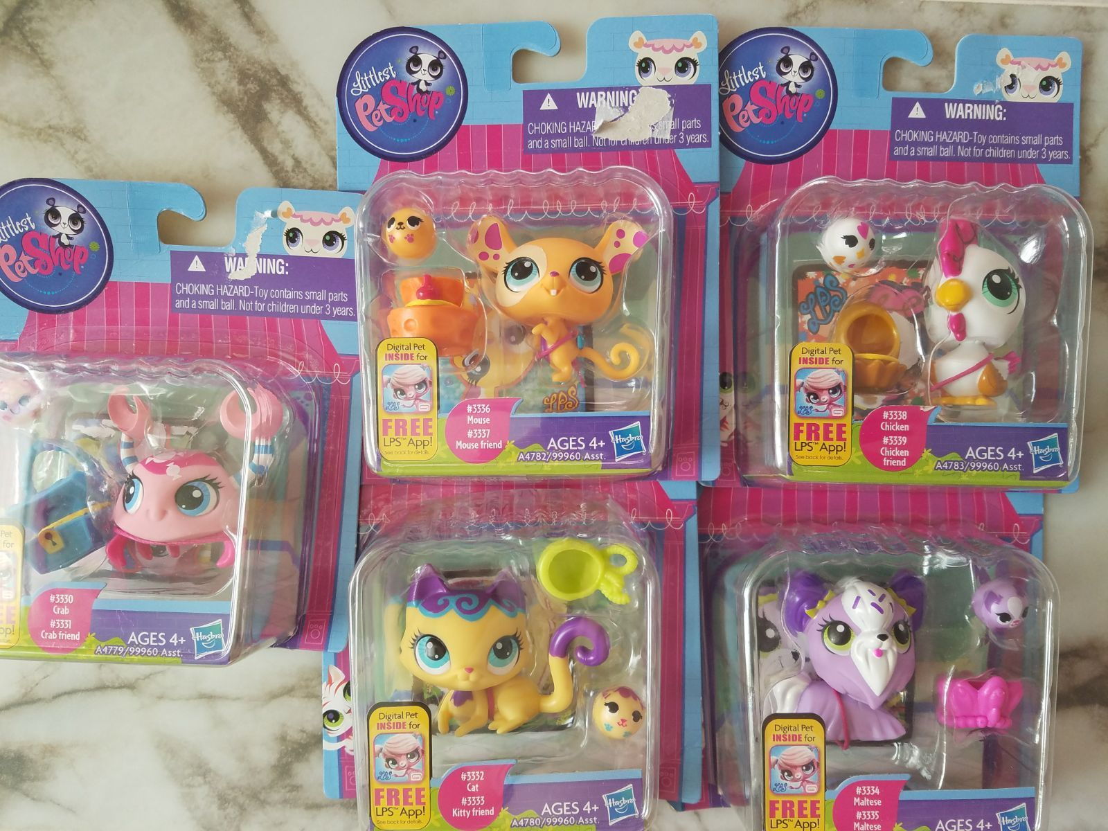 Lps Set Of 5 Full Collection Brand New Lps Lps Sets Lps Cats