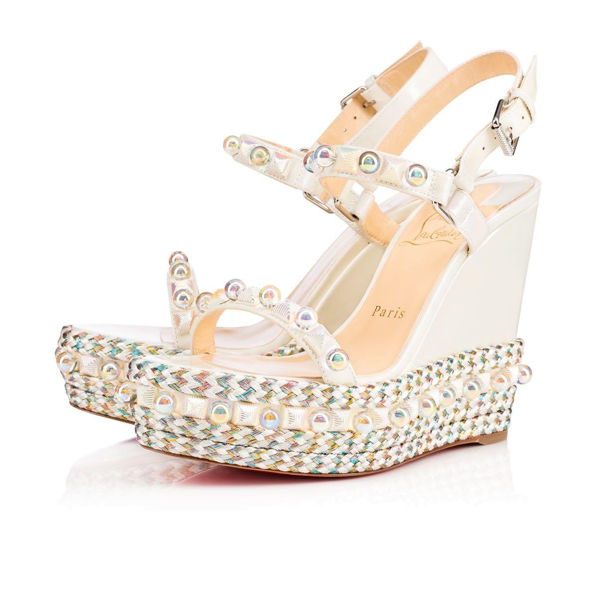 72784c7b380 CHRISTIAN LOUBOUTIN CATACONICO PATENT 120 Aurore Boréale Patent calfskin -  Women Shoes - Christian Louboutin.  christianlouboutin  shoes