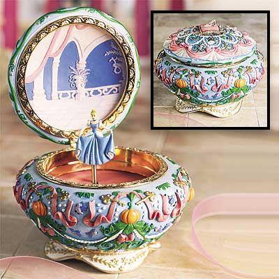 Cinderella Musical Jewelry Box Cinderella Pinterest Cinderella