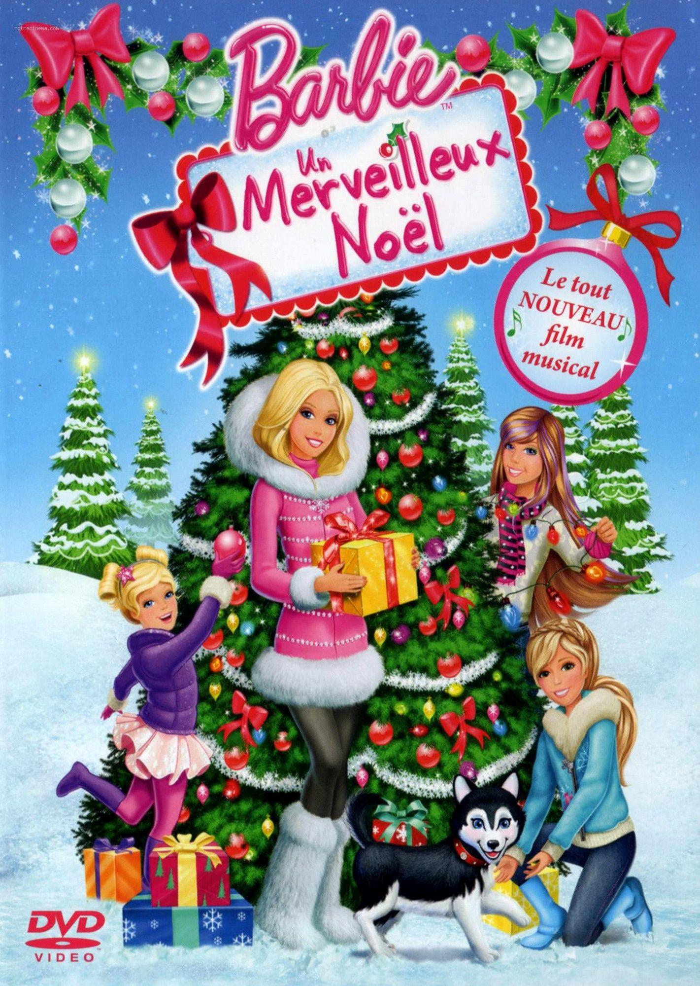 Barbie, Un Merveilleux Noël | barbie in 2018 | Pinterest | Movies ...