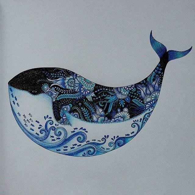 Estamos Esperando Voce Mandar O Desafiobaleiatop Ezrepost Zuzka Hanova With Lost Ocean Coloring Book Johanna Basford Coloring Johanna Basford Lost Ocean