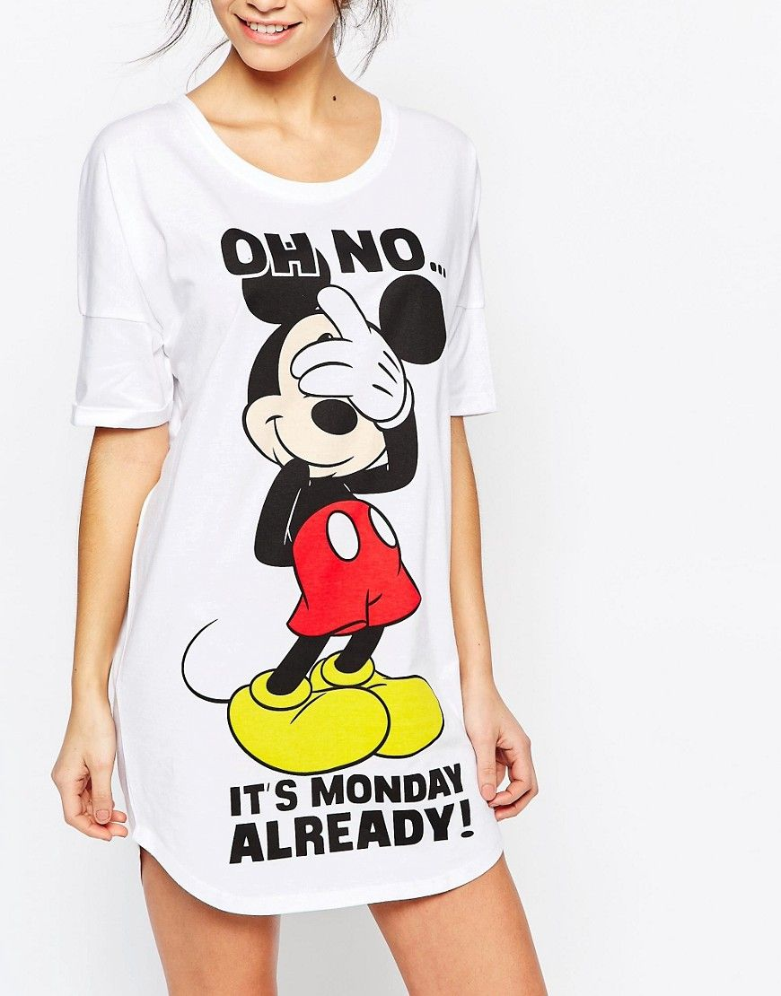 new arrive 2018 shoes detailed pictures Missimo - Disney Mickey Mouse Monday - Chemise de nuit ...