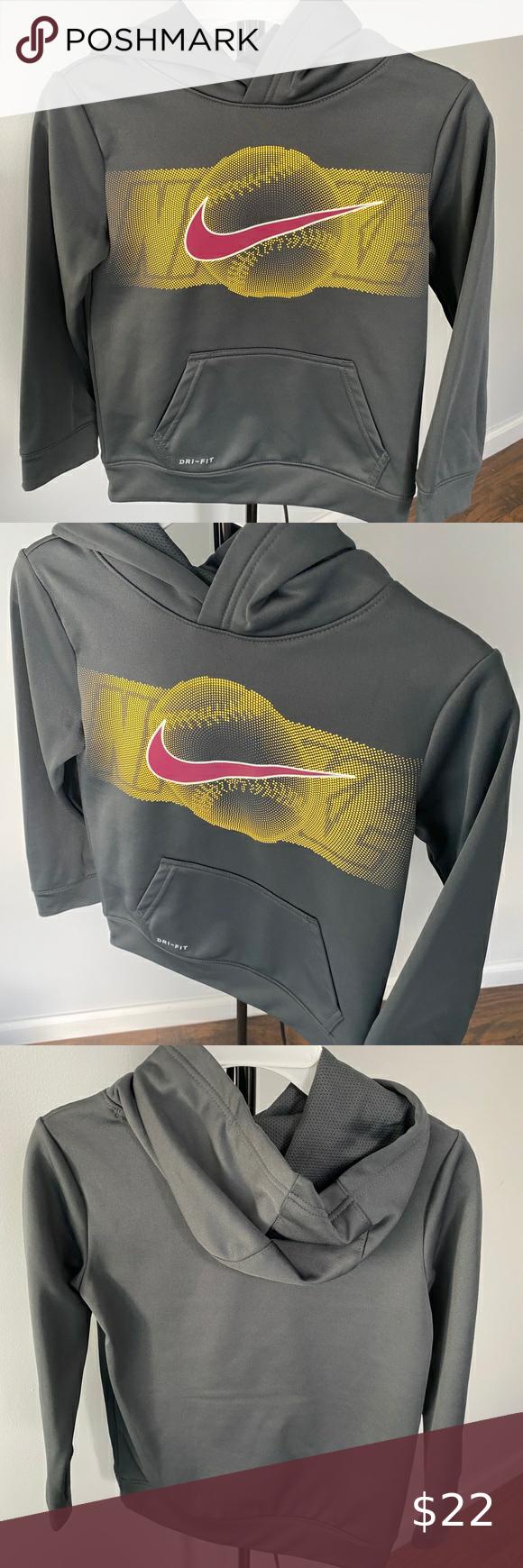 Boys Nike Dri Fit Baseball Hoodie Size 6 Brand New With No Tags Boys Nike Dri Fit T Shirt Size 6 Heather G Boys Nike Dri Fit T Shirts Baseball Hoodie [ 1740 x 580 Pixel ]