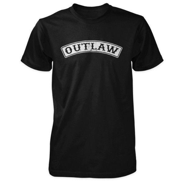 Outlaw Shirt - Top Rocker Style