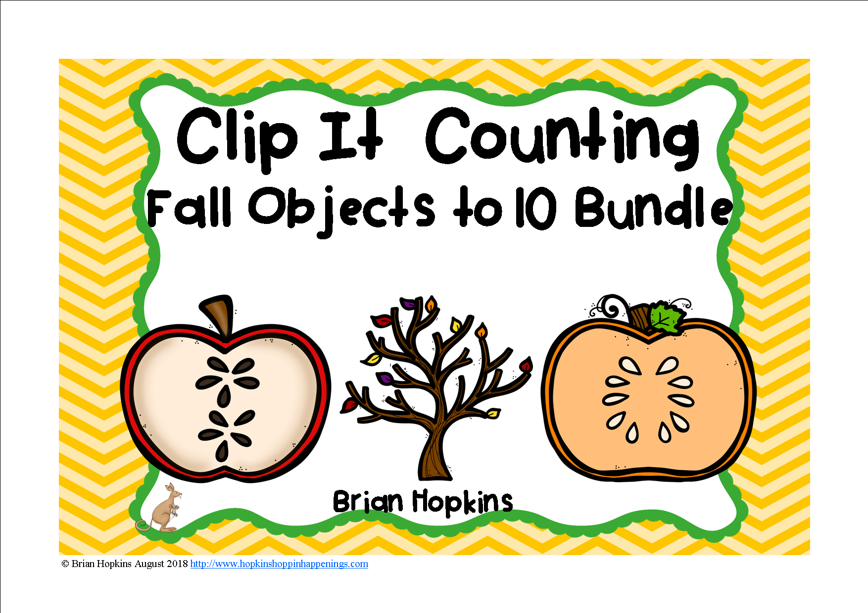 Clip It Counting To 10 Fall Bundle