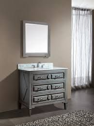 What Is The Best Standard Height Of A Bathroom Vanity Gray
