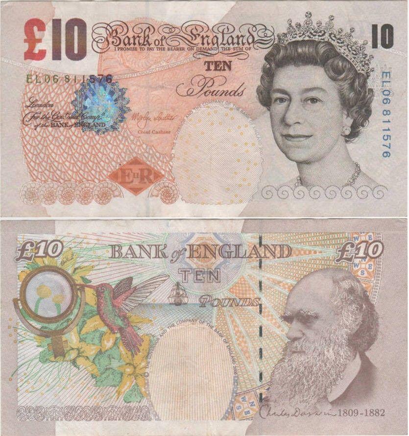 EF-Unc Great Britain QE II £5.00 Pounds 1990-2016  Grades