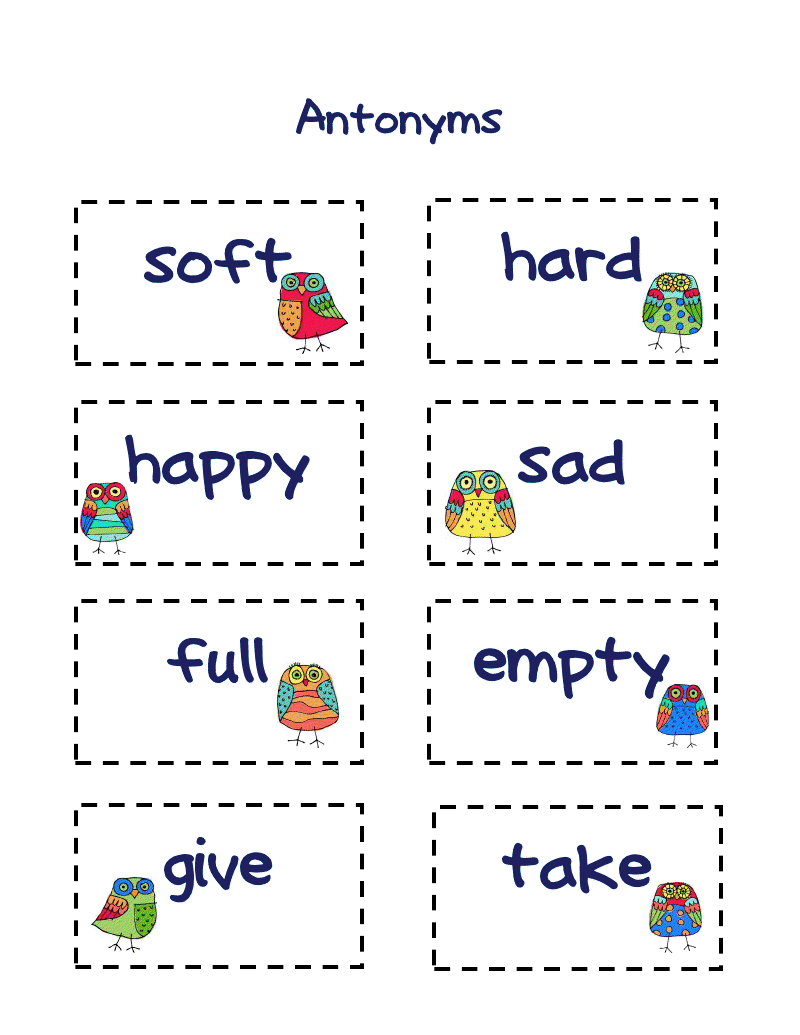 Antonyms Synonyms And Antonyms Pinterest Language Arts
