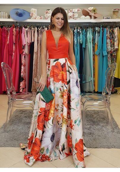 Lea Las Condiciones De Cambio Y Devolución Antes De Realizar Su Pedido Si Tiene Alguna Con Su Tal Vestidos Largos Florales Vestidos De Fiesta Vestidos De Moda