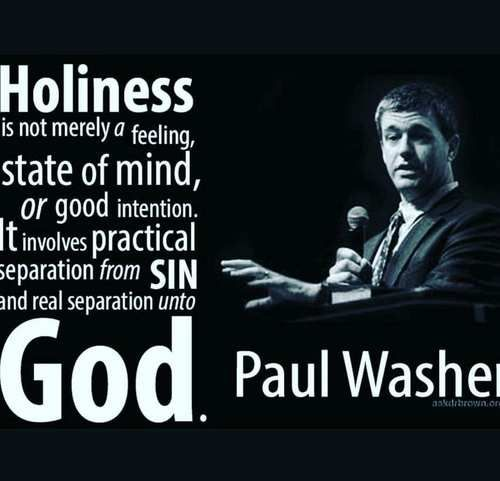 Holiness should be practical discovered by Ashish Varshney