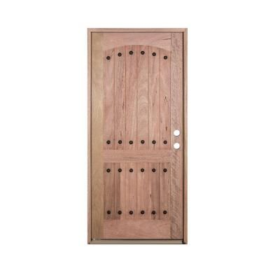 Interior Doors Exclusive Wood Doors 36 In X 80 In V Groove 2 Panel Rustic Unfinished Distressed Mahogan Home Depot Interior Doors Wood Doors Doors Interior