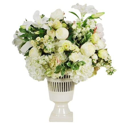 I pinned this Blanc Fleurs Faux Arrangement from the Winward event at Joss and Main!