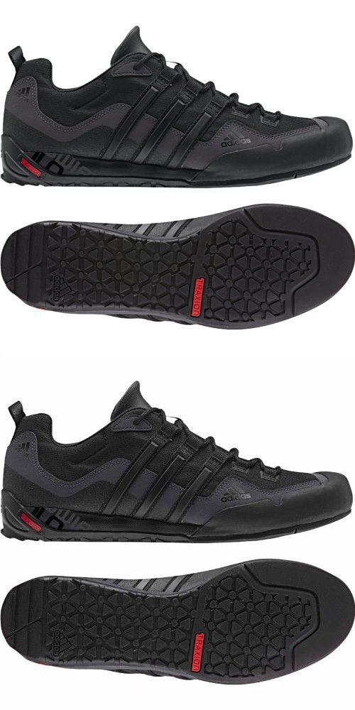Adidas Outdoor Terrex Swift Solo Approach Shoe Men S Black Black Lead 11 Mit Bildern Freizeitschuhe Herren