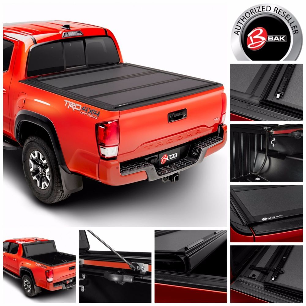 Same Business Day Shipping Bakflip Mx4 Hard Folding Bed Cover Fits 2016 2017 Toyota Tacoma 5 B Toyota Tacoma Bed Cover Toyota Tacoma Accessories Toyota Tacoma