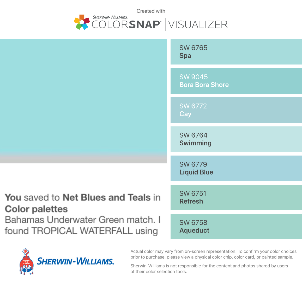 The Sherwin Williams Matches To The Behr Match Of Jamaican Dream Found These Colors Wit Green Paint Colors Paint Colors For Home Interior Paint Colors Schemes,Bathroom Backsplashes