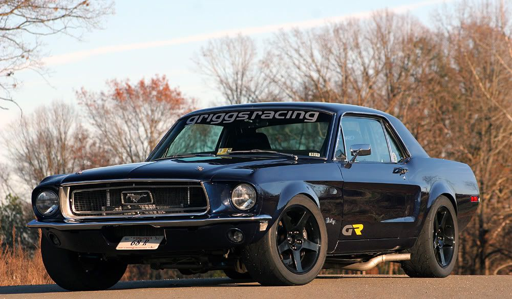 Stance And Tire Size Stock Body Mustang Coupe Mustang Cars