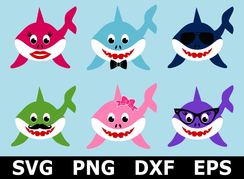 Baby Shark SVG / Shark SVG / Mommy Shark SVG / Shark