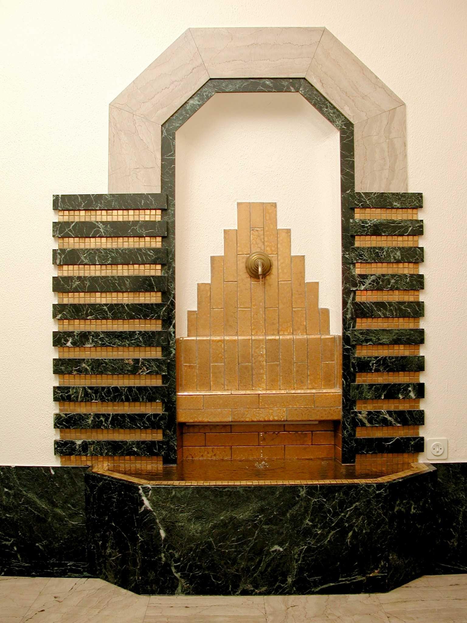 The Building Of The Museum In Brussels Clockarium Architecture Art Deco Art Deco Art Decoratif