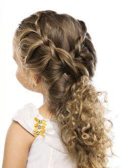 8 Penteados Para Cabelo Cacheado Infantil As Meninas Vão