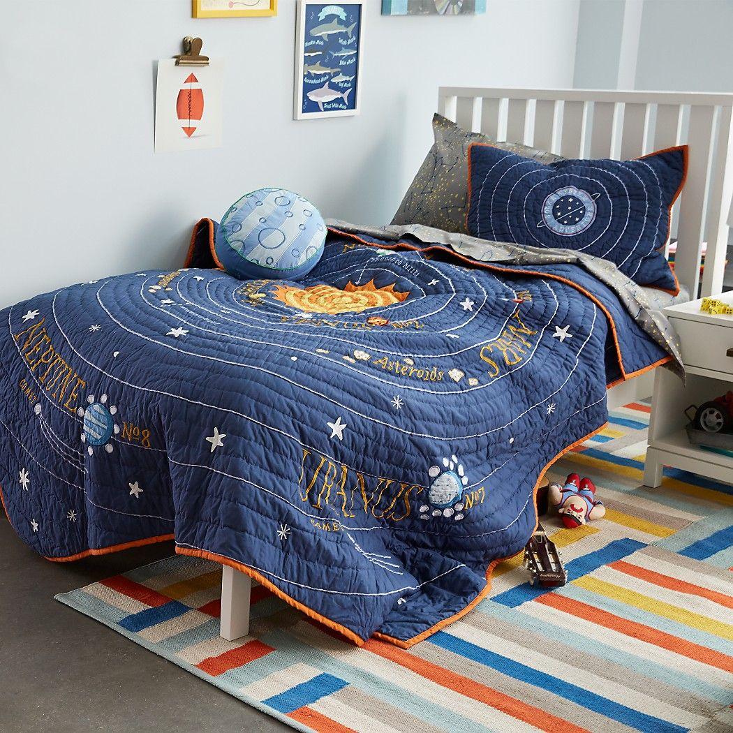Solar System Bedding Solar System Room White Nightstand Solar
