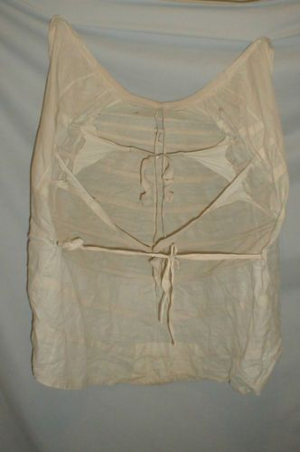 1870-1880 Lobster Style Cotton Bustle Cage