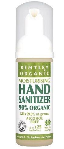Bentley Organic Hand Sanitiser Hand Sanitizer Natural Hand