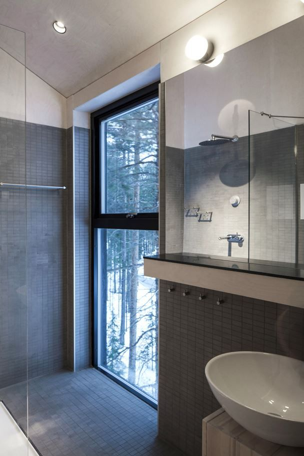 treehotel 7th room offers modern amenities such as cozy bathroom and rh pinterest co uk