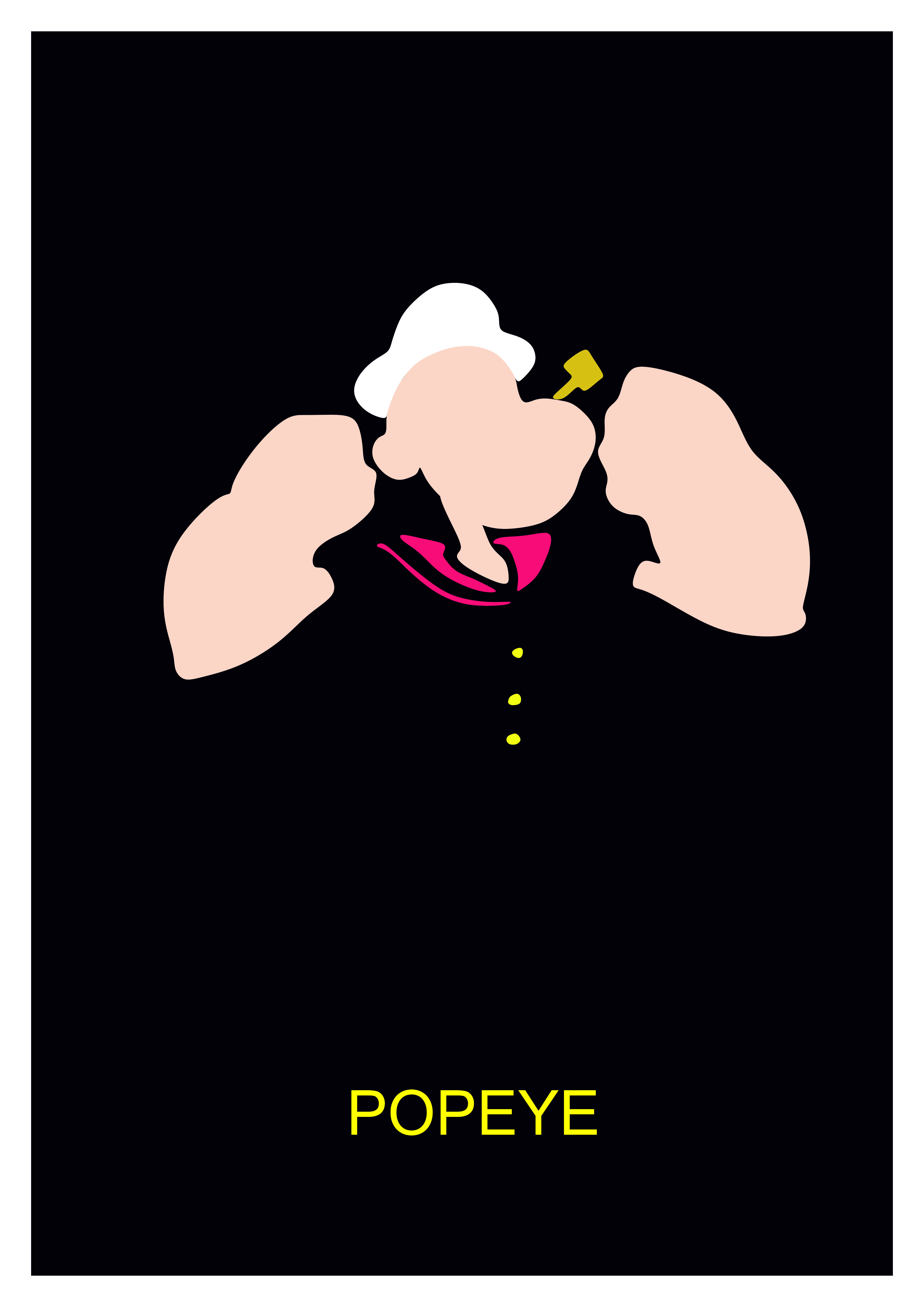 Popeye. Desierto Studios (Óscar Sola) Whatsapp profile