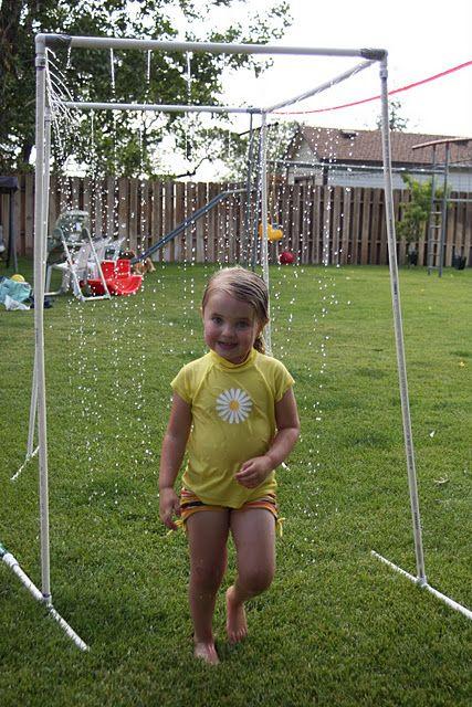 """PVC Pipe Sprinkler """"Kid Wash"""" Tutorial"""