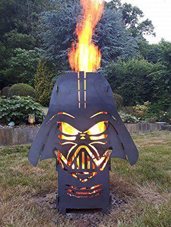 SpaceFire Feuersäule Feuerstelle Star Wars Darth Vader ähnlich mit