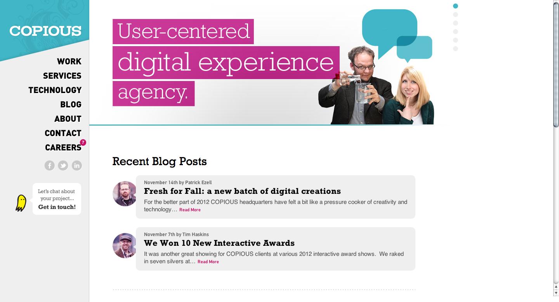 Copious Portland Digital Agency Metric Driven Experience