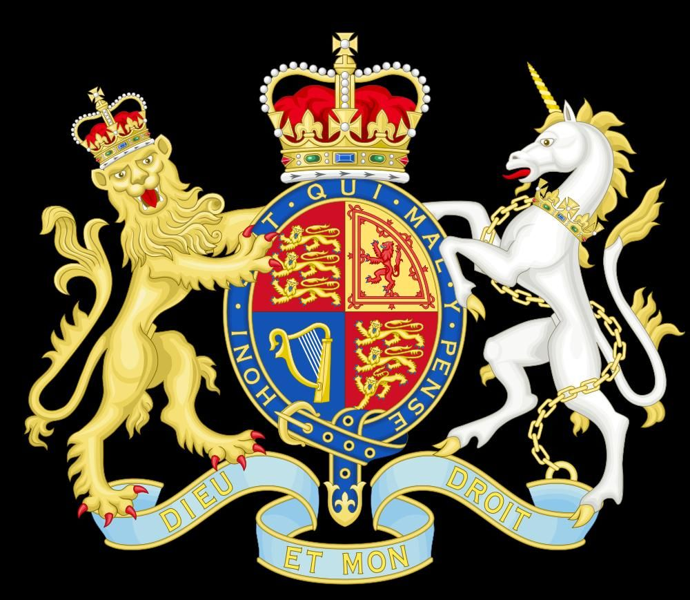 Royal Coat Of Arms - The United Kingdom / 95% of my