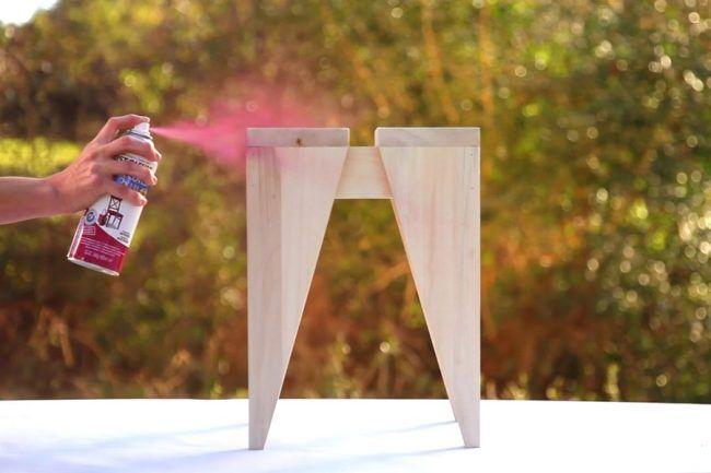 Cómo pintar con aerosoles