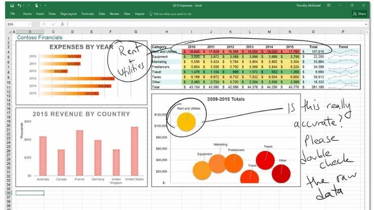 iPhone users can now draw in Microsoft Office apps iPhone - excel spreadsheet app iphone