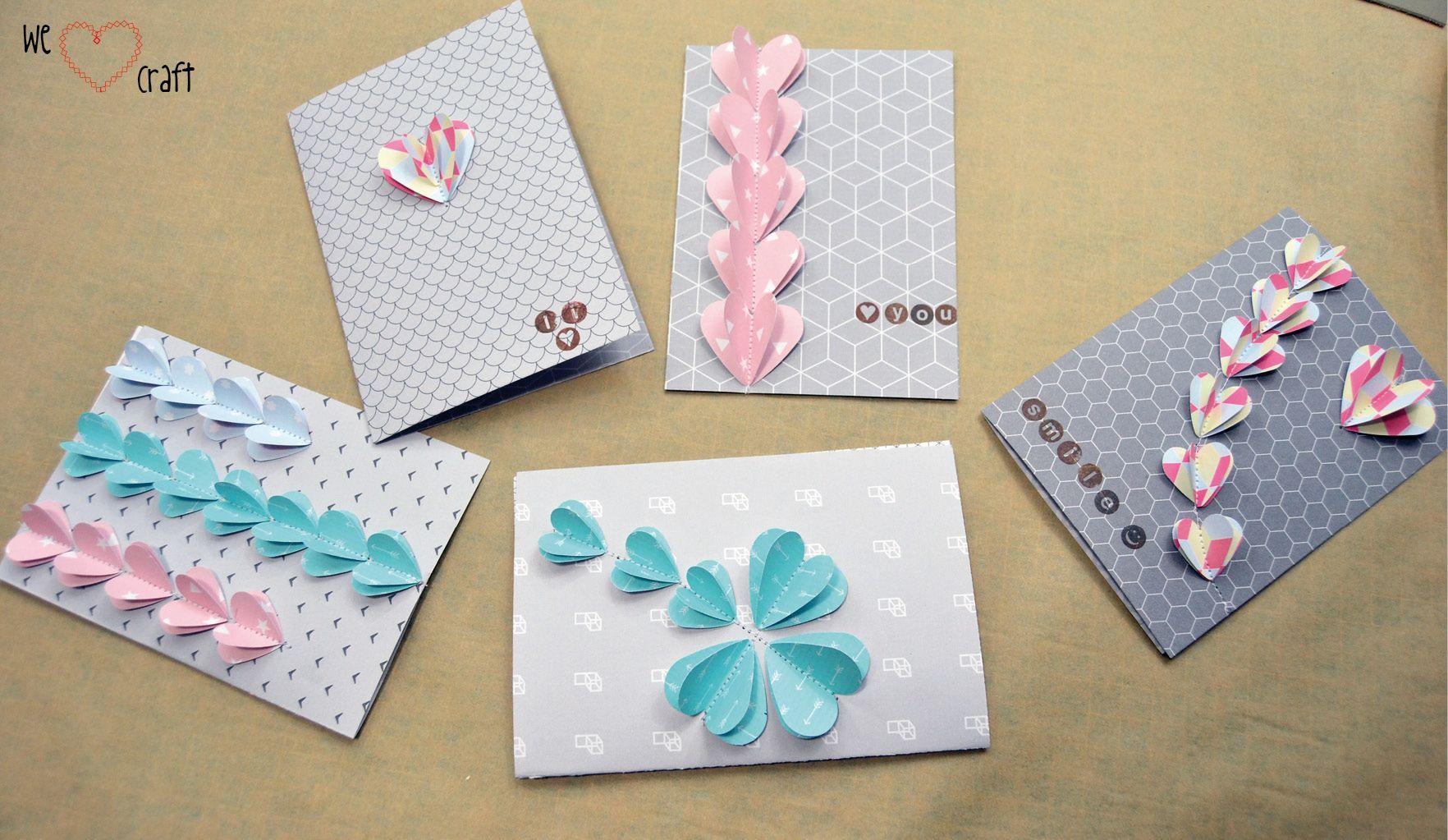 Diy tarjetas pop up para dar mensajes con mucho love diy - Como realizar tarjetas navidenas ...