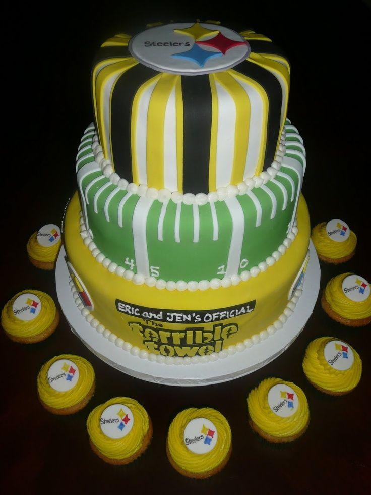 Pittsburgh Steelers Cake Ideas 115073 Steelers Grooms Cake Roos