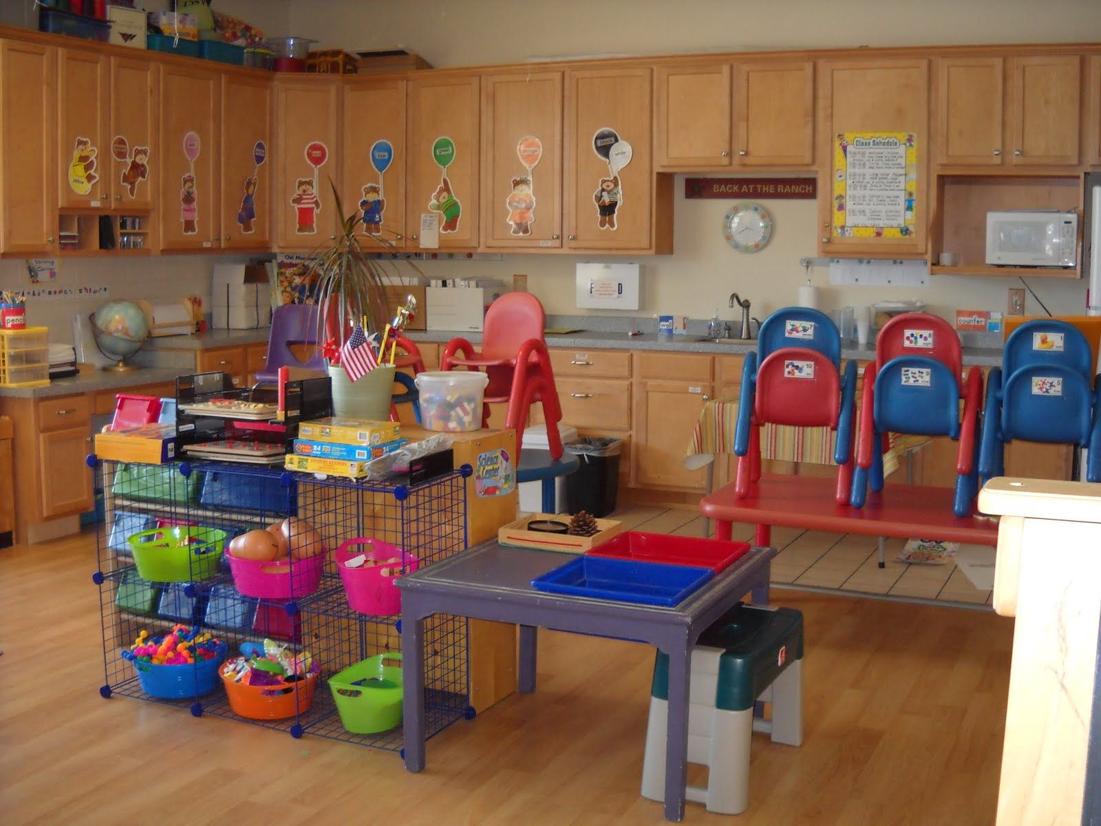 in home daycare! | Daycare | Pinterest | Cabinets, Classroom and ...