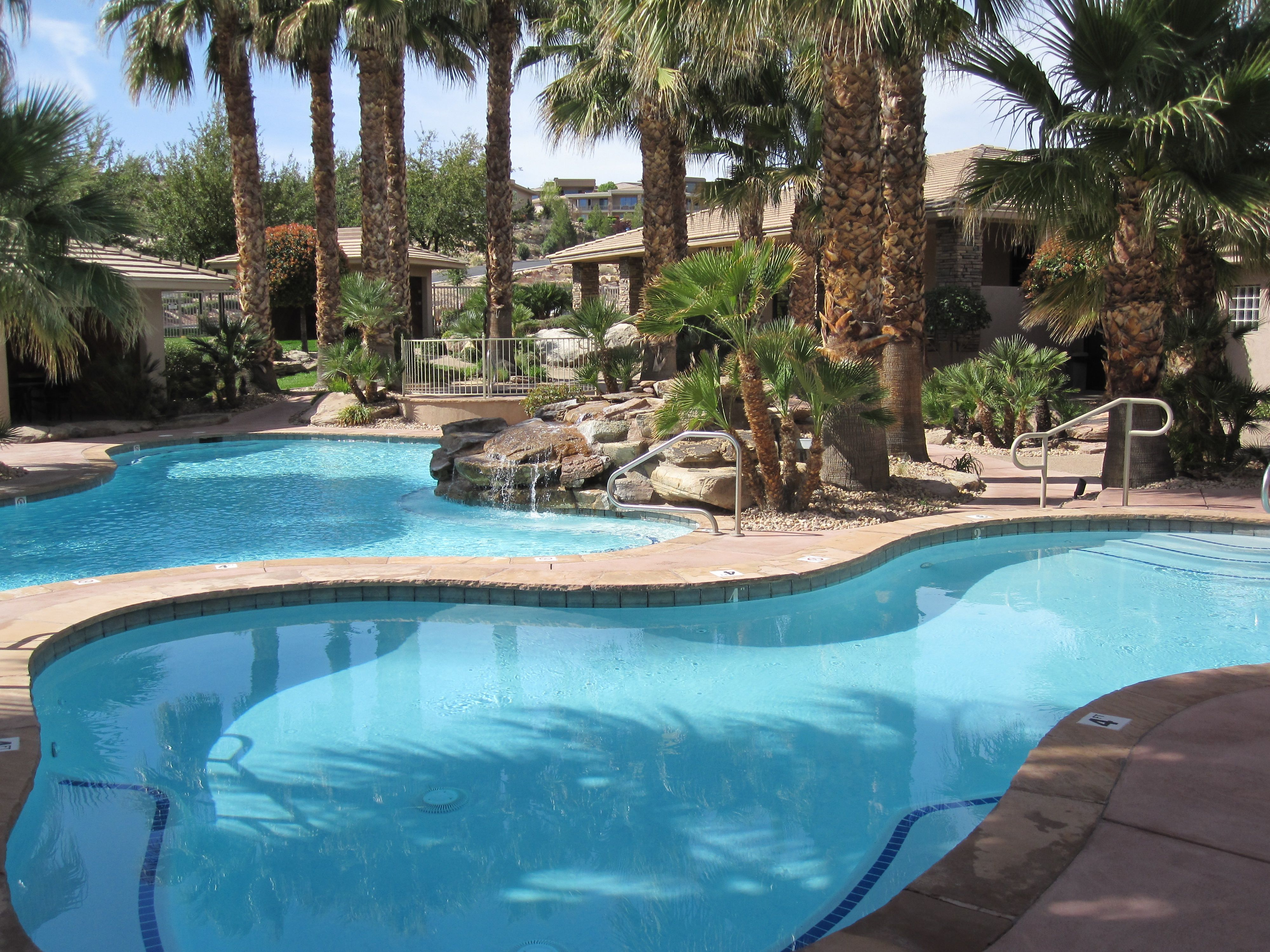 Gorgeous Pool At Stone Cliff Luxury Community In St George