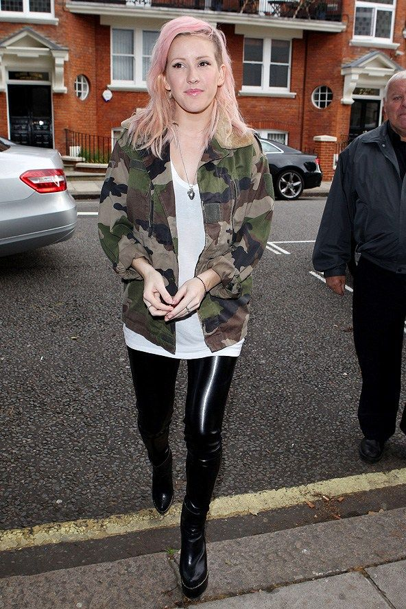 Ellie Goulding Fashion And Style From Festival The Red Carpet We Re Fans Of Here At Glamour