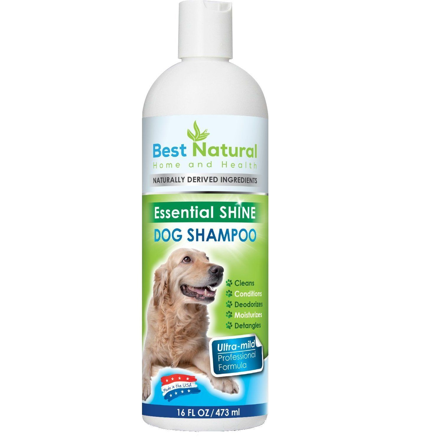 Best natural dog shampoo and conditioner dog shampoo for